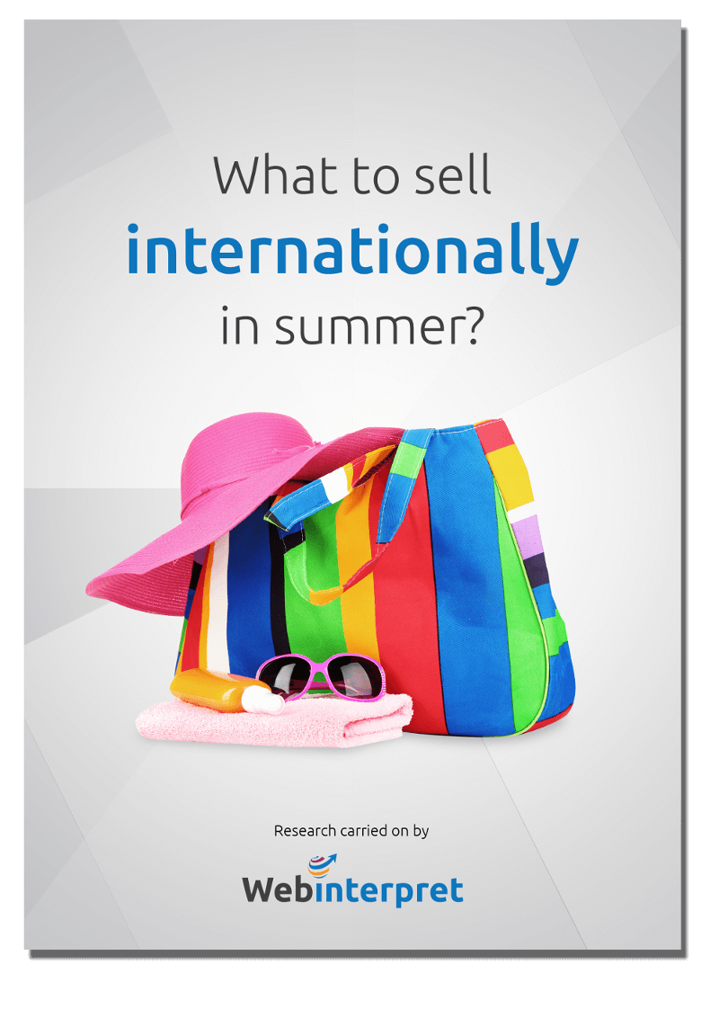 FREE report] What to sell in summer on international marketplaces?