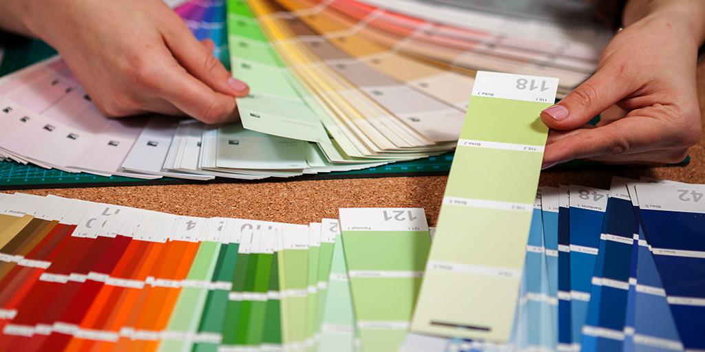 colour ecommerce pantone