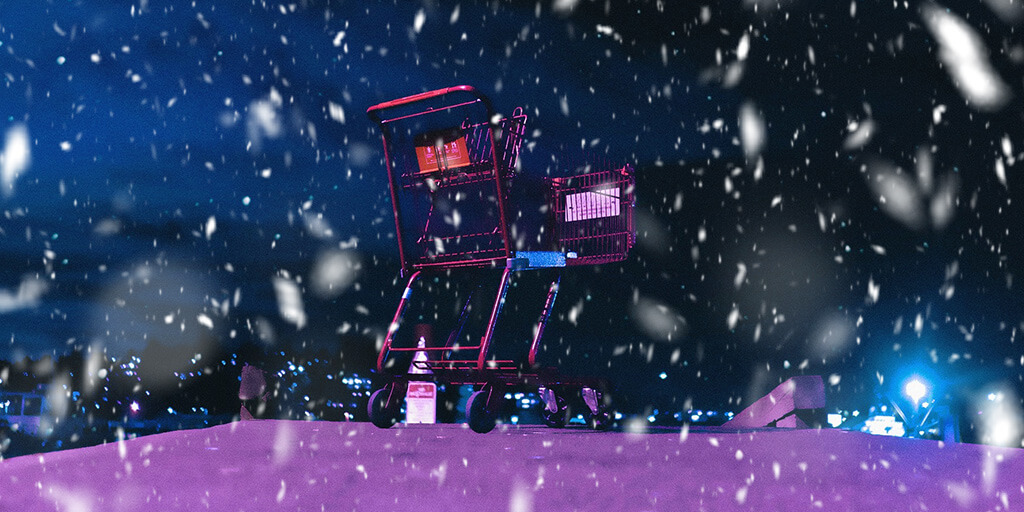 global-ecommerce-christmas-shopping-cart