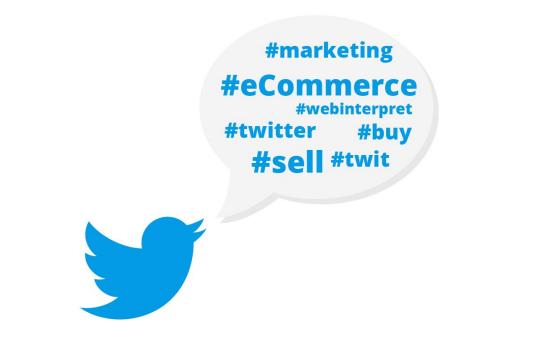 twitter hashtag ecommerce