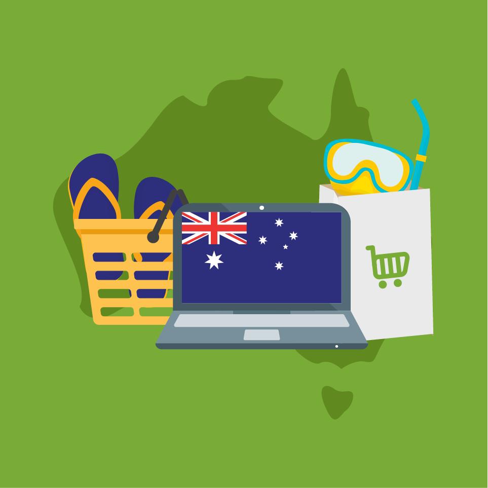 australia online sales potential