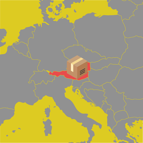 ecommerce austria location delivery