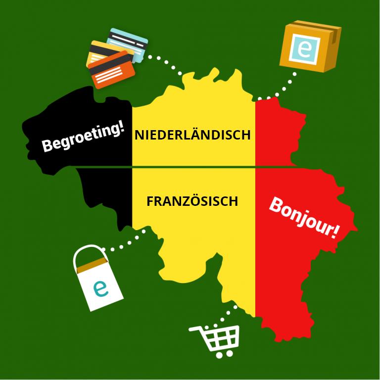 belgien sprachen ecommerce