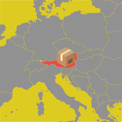 ecommerce austria location delivery