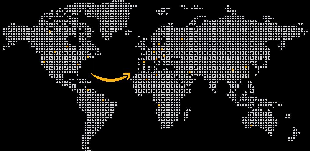 Amazon International Ecommerce Map