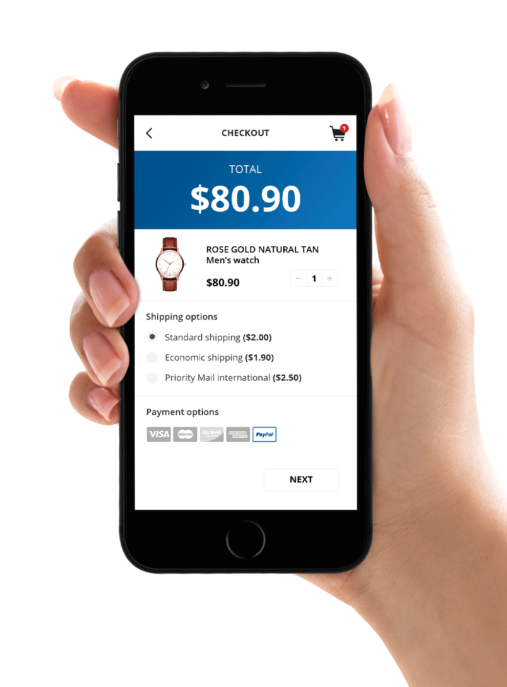 ecommerce checkout mobile