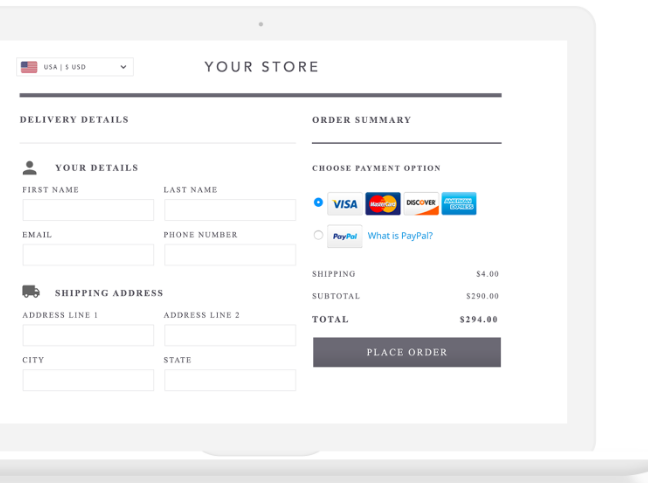 international checkout payment methods