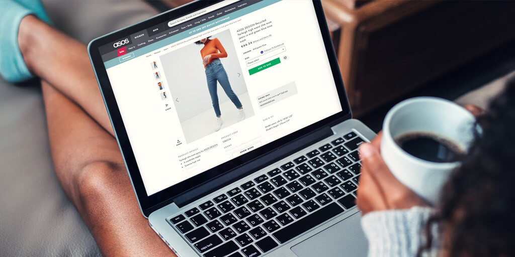 global ecommerce asos fashion computer