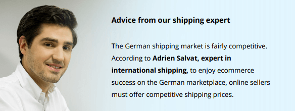 expert advice shipping ecommerce germany