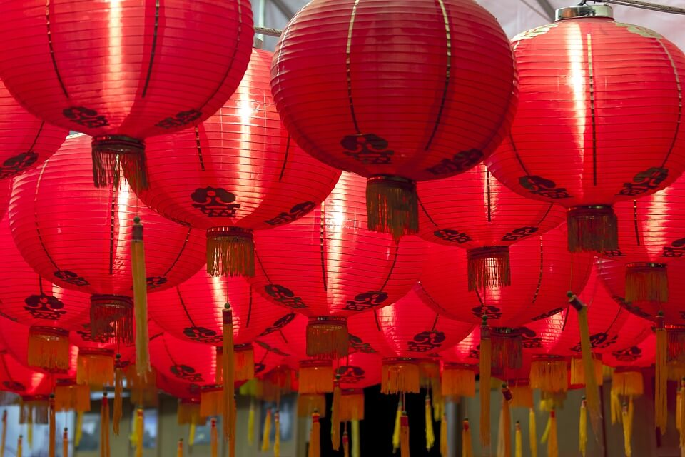 Ecommerce China: red lanterns