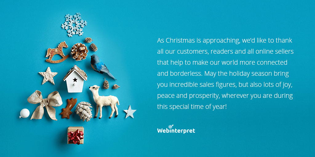 webinterpret christmas wishes blue