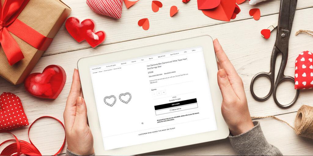 ecommerce valentine online store