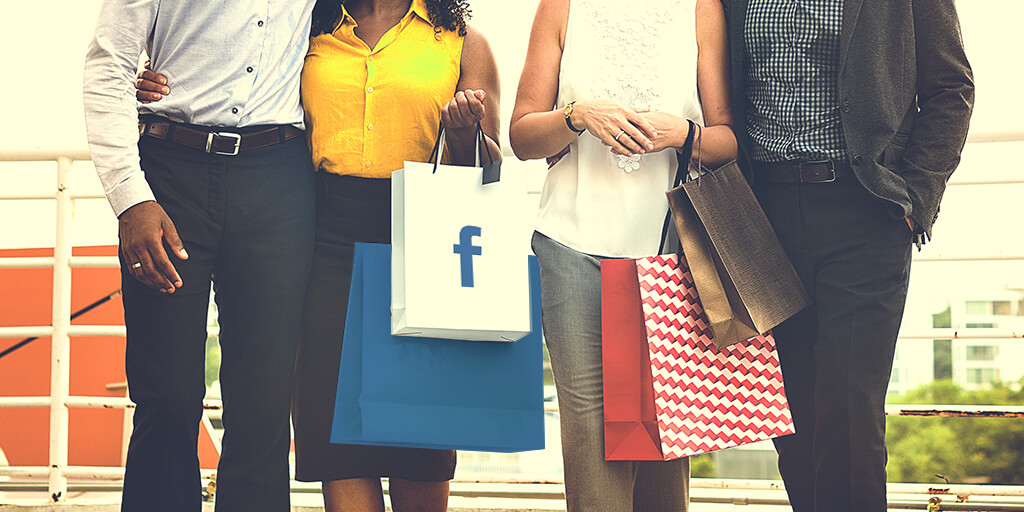 Facebook for ecommerce: shopping bags