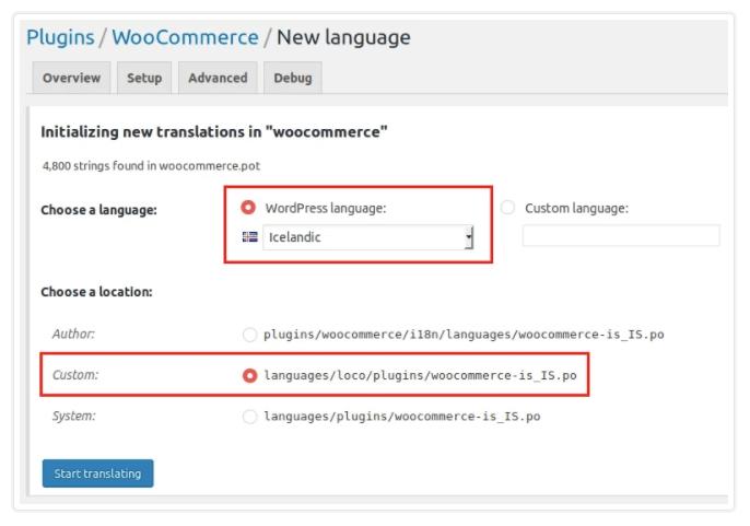 woocommerce translation plugins