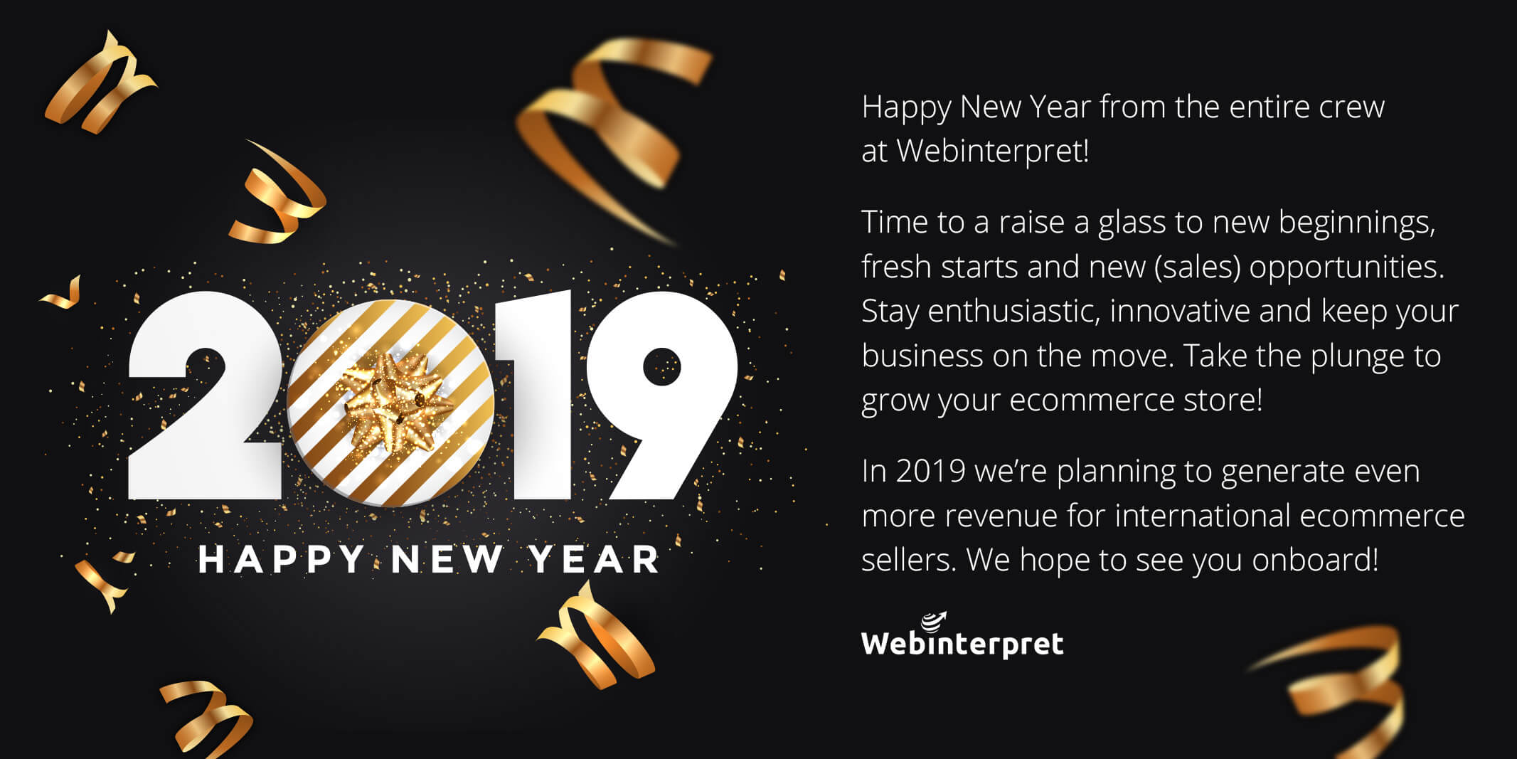webinterpret ecommerce 2019 wishes