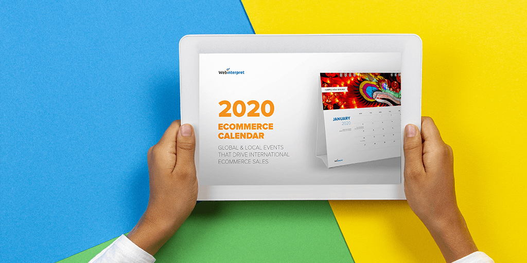 FREE Ecommerce Calendar to grow your sales fast in 2020