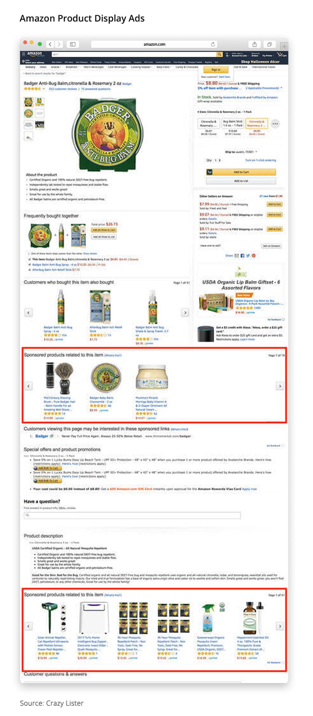 amazon advertising product display ads