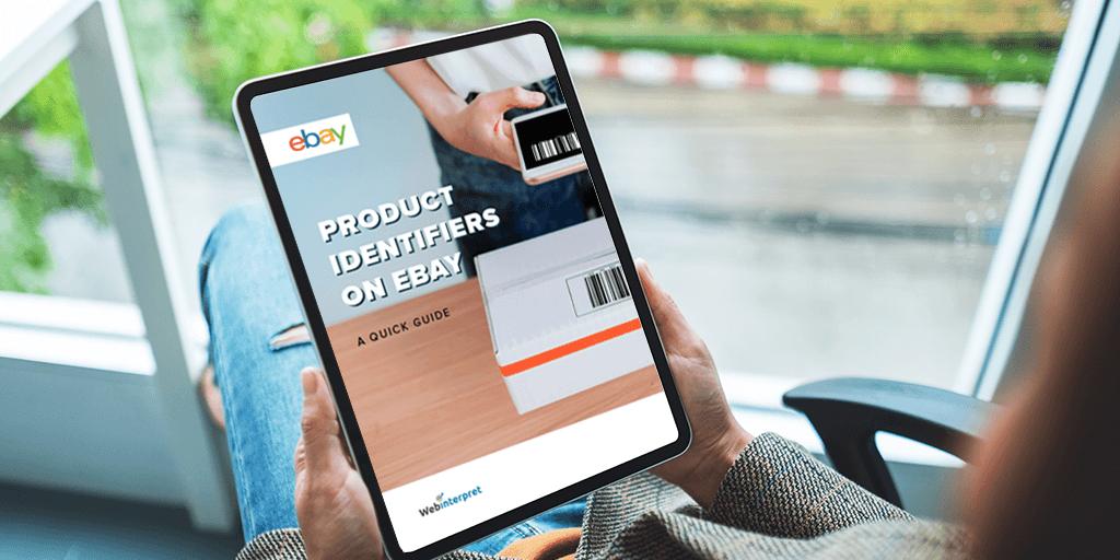 eBay product identfiers: gtin, mpn