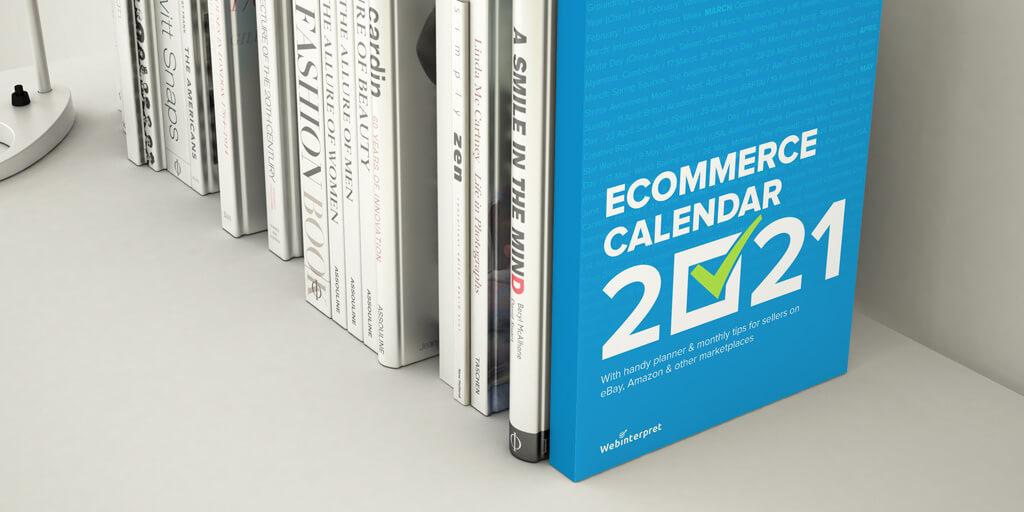 ecommerce calendar 2021 book cover