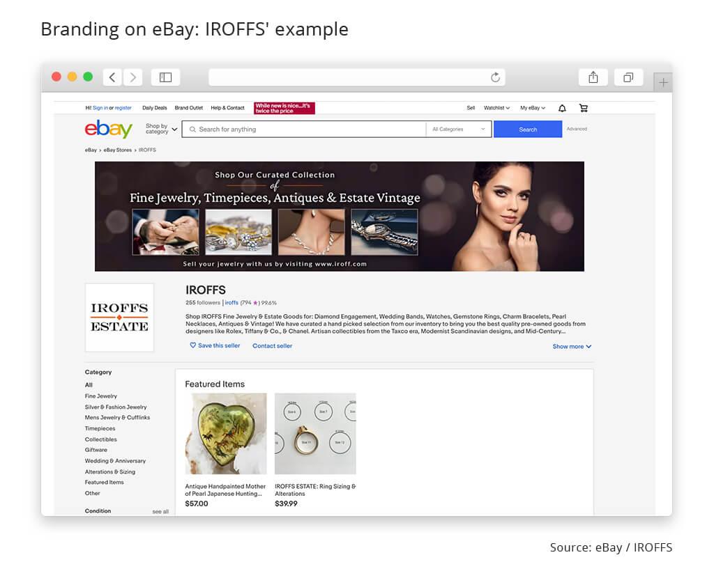 branding ebay