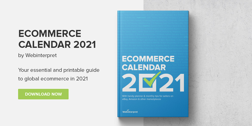 download ecommerce calendar 2021