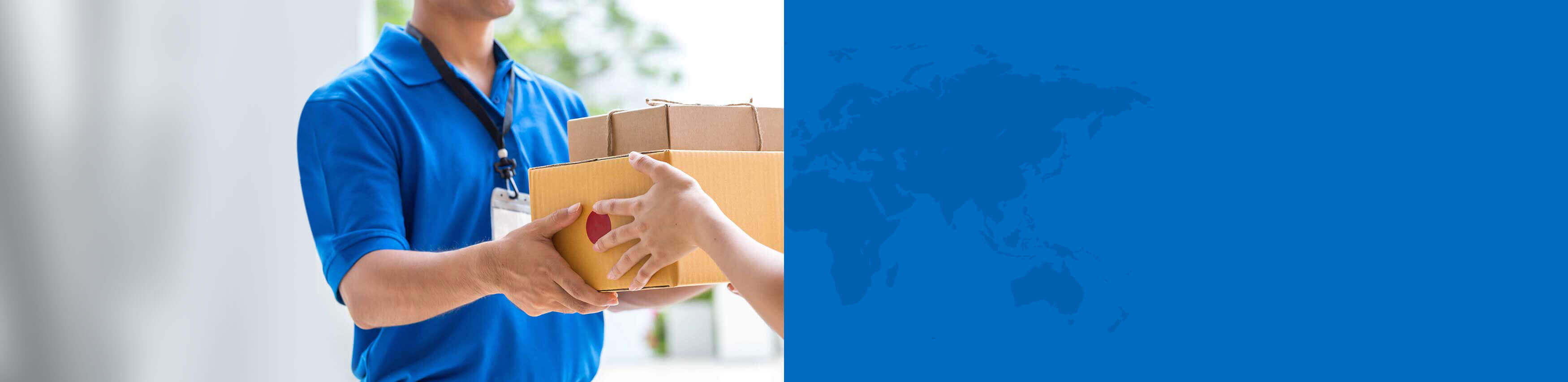 parcel forwarding background